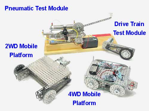 Robot Drive Train and Chassis